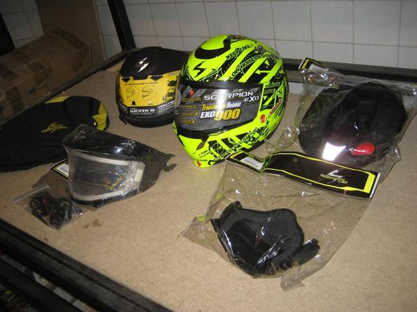 Casco en venta scorpion exo 900 air sin uso 2 thumb l