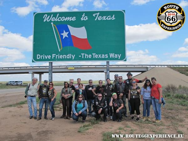 Route 66 experience  texas sign thumb l